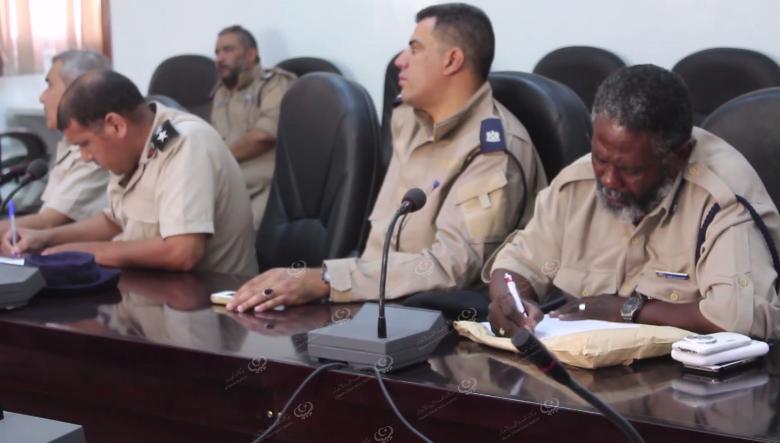 Photo of مديريات أمن الجنوب الشرقي يناقشون تشكيل غرف أمنية مشتركة بجالو