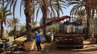 Photo of ضبط كمية من المعدات تخص الشركة العامة للكهرباء بأحد المزارع في منطقة النجيلة الغربية