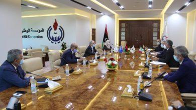 Photo of اجتماع المؤسسة الوطنية للنفط بشركة (إيني) شمال أفريقيا الإيطالية