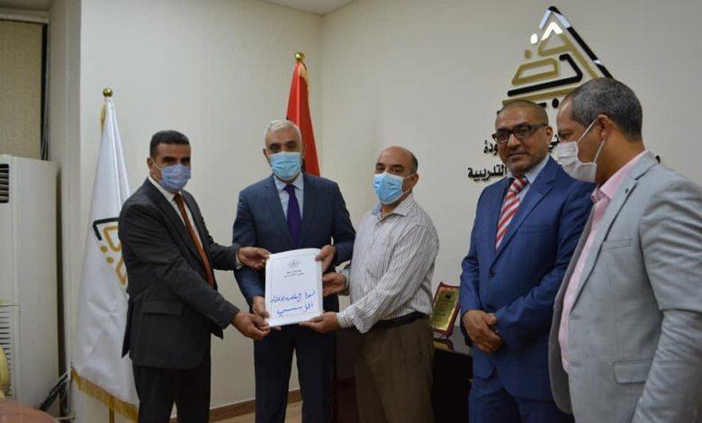 Photo of المركز الوطني لضمان جودة المؤسسات التعليمية يستلم مستندات (5) كليات معتمدة بجامعة سبها