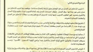 Photo of المجلس الرئاسي يوضح البرنامج التنفيذي للقرار (567) لتشغيل الشباب