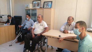 Photo of اجتماع لمناقشة المواضيع المتعلقة بمختلف فئات ذوي الإعاقة