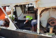 Photo of جهاز الإسعاف والطوارئ ينتشل ثلاثة جثت من ميناء طرابلس البحر