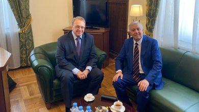 Photo of رئيس (تيار يابلادي) يلتقي مع نائب وزير الخارجية الروسي
