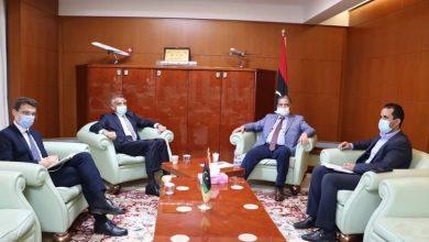 Photo of وزير مواصلات الوفاق يبحث مع السفير الإيطالي لدى ليبيا المشروعات المتعاقد عليها