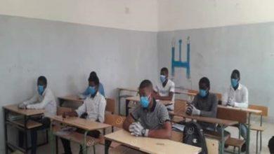 Photo of عودة طلاب الشهادة الثانوية إلى مدارسهم ببلدة إدليم بمرزق