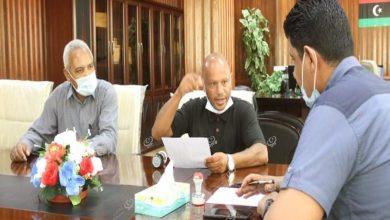 Photo of الوطنية للنفط تدعم بلدية جالو بأجهزة طبية لمجابهة (كورونا)