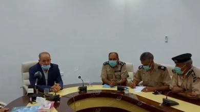 Photo of جهاز الشرطة الزراعية يتابع عمل فرع الجهاز ببني وليد