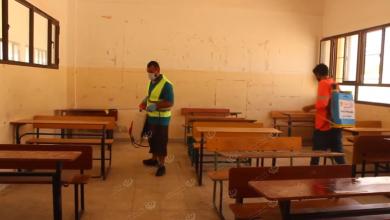 Photo of تعقيم المدارس استعداداً للبدء في امتحانات الشهادة الإعدادية ببنغازي