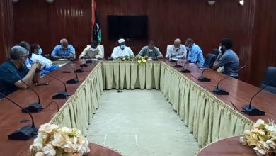 Photo of اللجنة المركزية لمجابهة (كورونا) تجتمع مع عدة قطاعات بغدامس