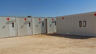 Photo of مستشفى بني وليد العام يستلم عيادات مجهزة خاصة بالعزل