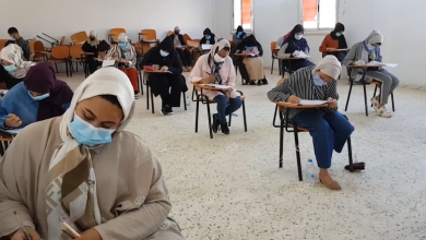 Photo of كلية الحقوق اجدابيا تدشن انطلاق الامتحانات النهائية بالجامعة