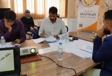 Photo of مناقشة مشاريع التخرج في كلية الإعلام والاتصال باجدابيا