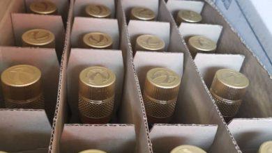 Photo of ضبط (13000) زجاجة مشروبات كحولية داخل حاوية (20) قدم بمركز جمرك ميناء الخمس البحري