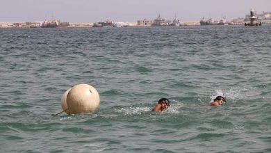 Photo of رقم ليبي جديد في سباق القدرة والتحمل سباحة لمسافة (10) كيلومتر لفئة البراعم