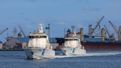 Photo of وصول الزوارق البحرية (P300) (P301) التابعة للإدارة العامة لأمن السواحل