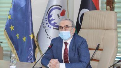 Photo of رئيس مجلس إدارة المؤسسة الوطنية للنفط يلتقي بعدد من سفراء الدول الأوروبية
