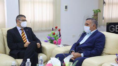 Photo of المدير العام للشركة العامة للكهرباء يستقبل  سفير الاتحاد الأوروبي