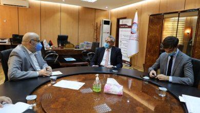Photo of السفير الإيطالي يزور المركز الوطني لمكافحة الأمراض