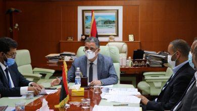 Photo of اجتماع لمناقشة الديون المترتبة على شركتي الخطوط الأفريقية والليبية