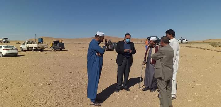 Photo of وفد من شركة هاتف ليبيا يزور موقع مشروع الفايبر بين مزدة وأبو الغرب