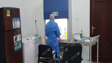Photo of اجدابيا : نفاذ اختبارات المسحة الأنفية الخاصة بـ(كورونا) وقرب الانتهاء من تركيب جهاز الاختبارات الفيروسية
