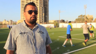 Photo of تجهيز الملعب الجانبي بالمدينة الرياضية بنغازي