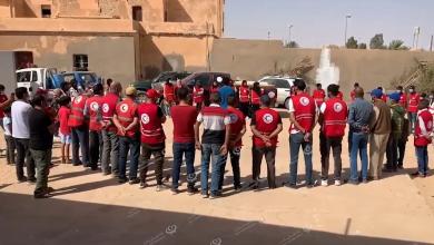 Photo of شعبة الهلال الأحمر الليبي فرع درج تستقبل وفد من الهلال بطرابلس