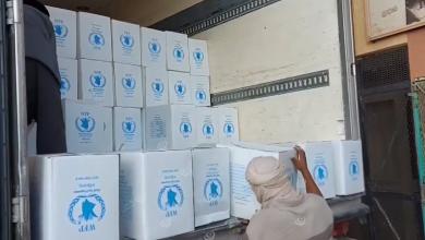 Photo of برنامج الأغذية العالمي يرسل مساعدات للأسر النازحة ببني وليد