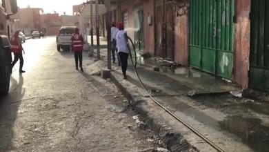 Photo of حملة تعقيم واسعة تستهدف الشوارع والأسواق والأماكن العامة بغدامس