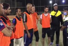 Photo of مباراة ودية تجمع نادي الصمود مع لاعبي الهواة بالجالية الجزائرية بغدامس
