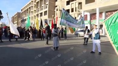 Photo of الاحتفالات بذكري المولد النبوي الشريف في بنغازي