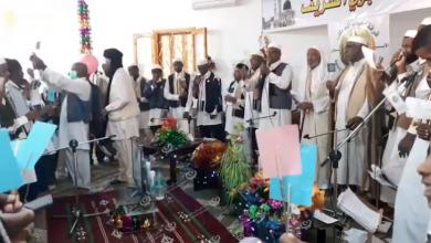 Photo of أهالي أوباري يحتفلون بذكرى المولد النبوي الشريف