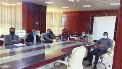 Photo of لجنة الإعداد والإشراف على امتحانات مدارس التعليم الأجنبي تجتمع بالمديرين الأكاديميين