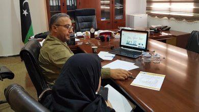 Photo of وكيل ديوان بلدي طبرق يبحث مع منظمة(GIZ) الألمانية دخول البلدية ضمن برنامج التنمية الألماني