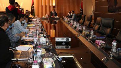 Photo of اجتماع للجنة متابعة عمل إدارة الشركة الليبية للبريد والاتصالات وتقنية المعلومات القابضة ومناقشة أوضاعها