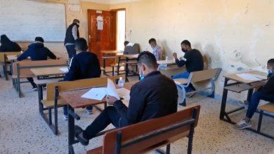 Photo of (1546) طالبا وطالبة يجرون امتحانات إتمام الشهادة الإعدادية ببلديات وادي الآجال