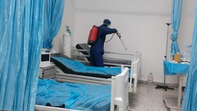 Photo of تعقيم مستشفى نسمة العام بعد دخول حالات إصابة بفيروس (كورونا)
