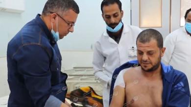 Photo of طبي طبرق يجري عملية تثبيت نادرة للكتف الأيمن بواسطة شريحة بلاتين لأحد المرضى