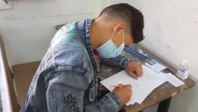 Photo of تواصل امتحانات الشهادة الإعدادية بمدرسة (17) فبراير بكاباو