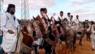 Photo of عروض للفروسية والشعر الشعبي على هامش مهرجان السلام الأول للفنون ببنت بية