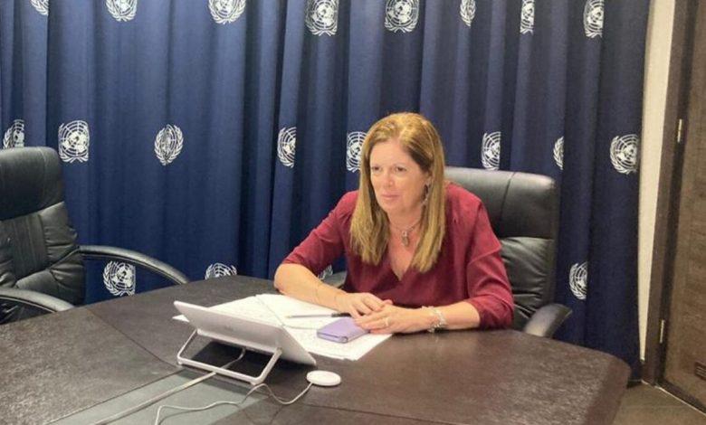 "Photo of إحاطة الممثلة الخاصة للأمين العام للأمم المتحدة في ليبيا بالإنابة ""ستيفاني وليامز"" أمام مجلس الأمن"