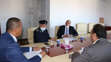 Photo of مناقشة تشكيل اللجنة العليا واللجان الفرعية لمتابعة الأداء الإداري والفني للموانئ الليبية