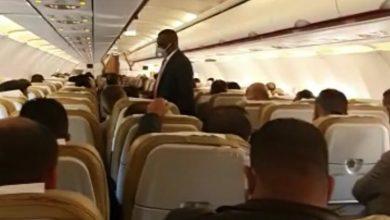 Photo of طائرة تقل (113) من أعضاء مجلس النواب تقلع من مدينة طنجة مباشرة إلى غدامس