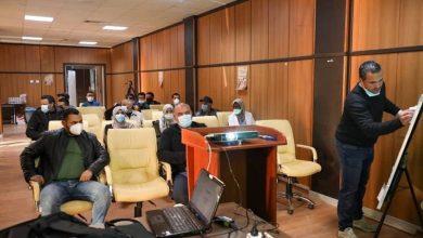 Photo of انطلاق ورشة العمل التدريبية الثالثة حول التأكيد المعملي لفيروس (كورونا) والأمن والأمان الحيوي داخل المعامل