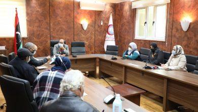 Photo of اجتماع في إطار برامج مكافحة مرض الدرن