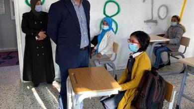 Photo of وكيل وزارة التعليم يتابع سير الدراسة بمدارس بني وليد