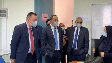 Photo of وفد من وزارة التعليم يتفقد المدرسة الليبية ومعهد (تاجورني) في مالطا