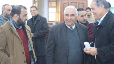 Photo of رئيس لجنة إدارة الهيئة العامة لصندوق التضامن الاجتماعي بالحكومة الليبية يتفقد فرع الهيئة بالقبة
