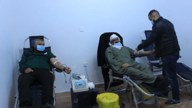 Photo of حملة للتبرع بالدم في بلدية قمينس